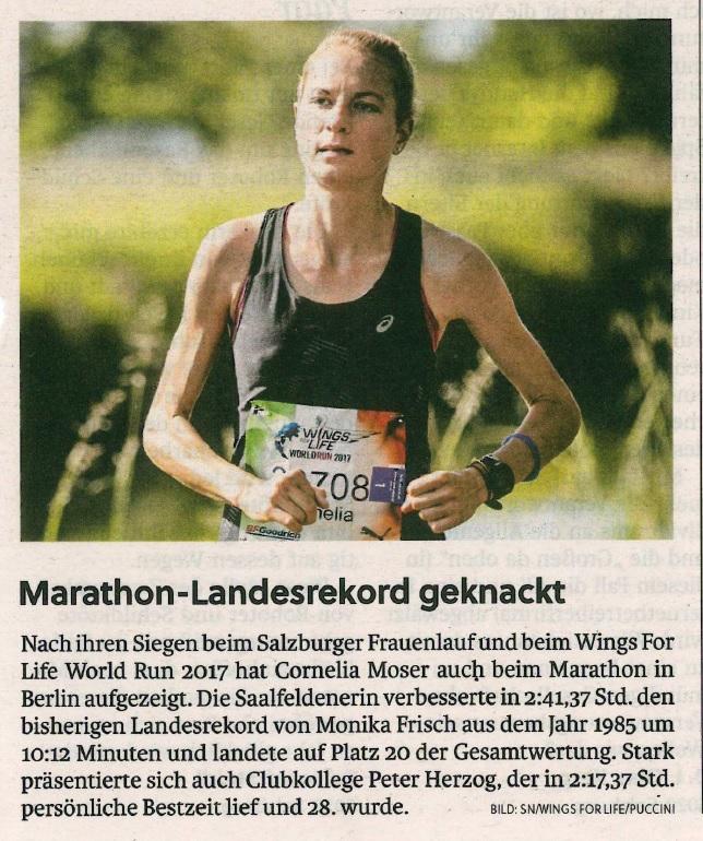 Marathon-Landesrekord